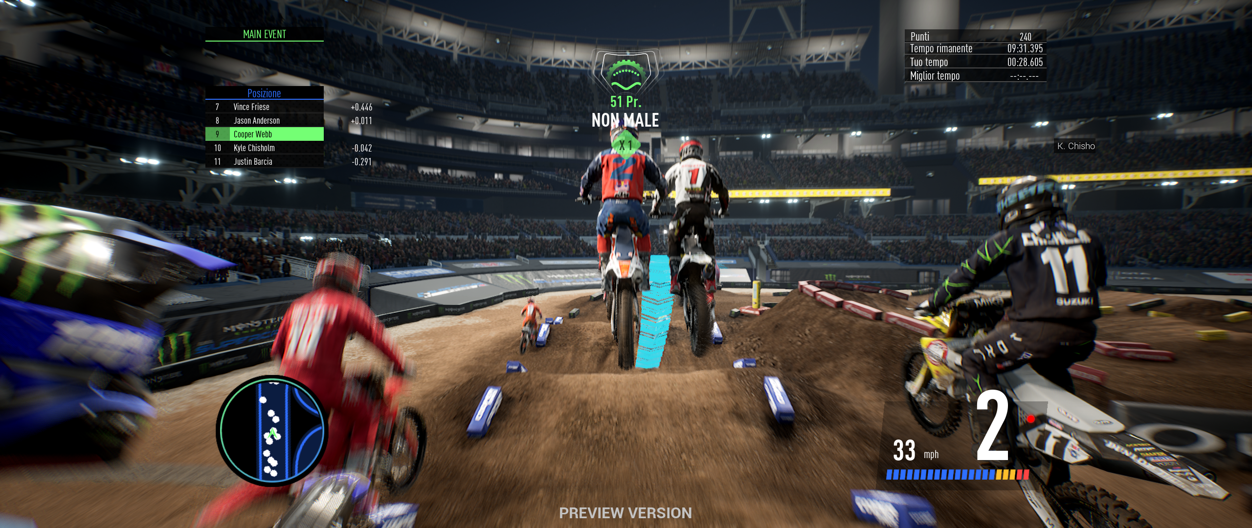 Monster Energy Supercross: The Official Videogame 3 – Provato