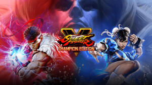 street fighter V champion edition copertina