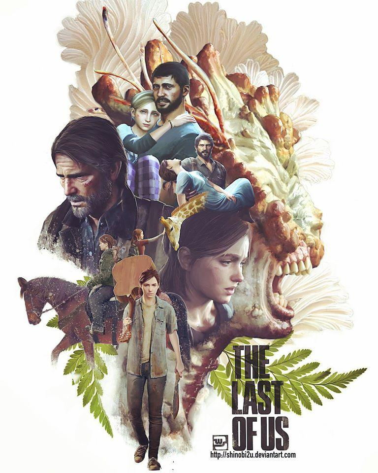 Naughty Dog condivide uno spettacolare poster fan-made per The Last of Us