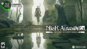 nier automata become as gods edition xbox game pass