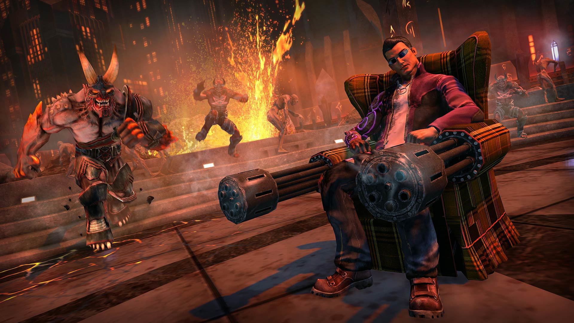 Saints Row IV: Re-Elected per Switch è come un flashback del Vietnam al neon – Recensione