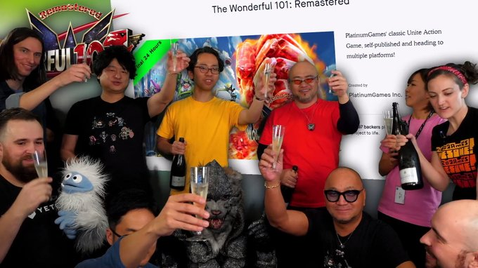 The Wonderful 101: Remastered, i ringraziamenti di Hideki Kamiya