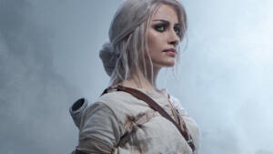 CD Projekt RED stregata da una cosplayer di Ciri da The Witcher