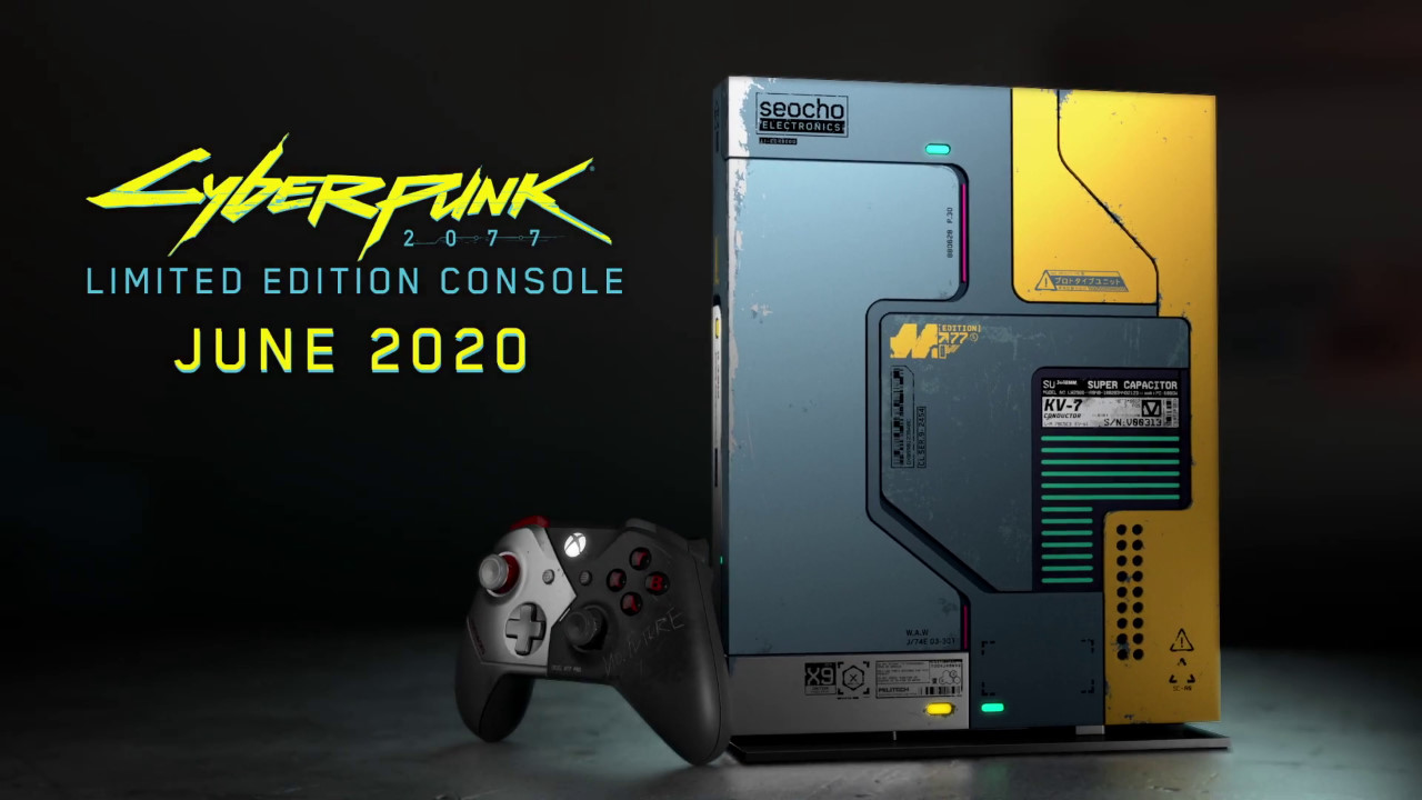 Xbox One X Cyberpunk 2077 Limited Ed.