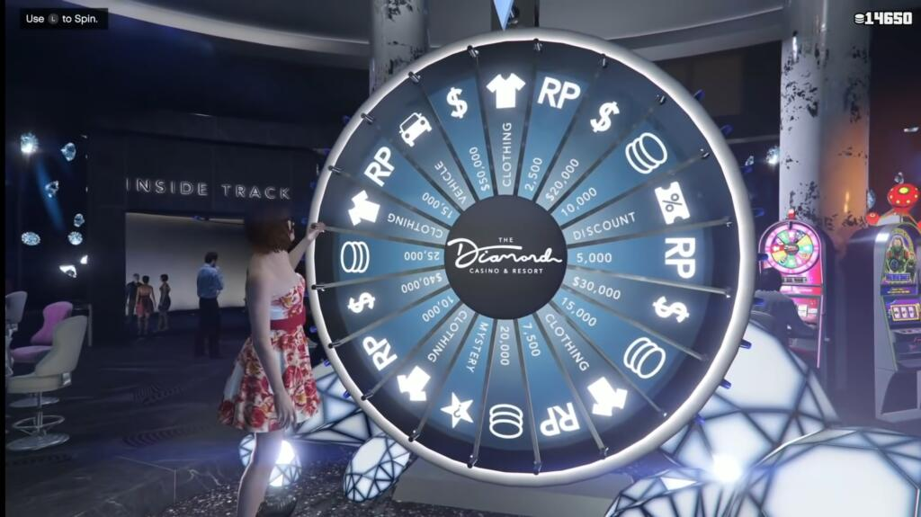 GTA online and the wheel of fortune (time) – detail