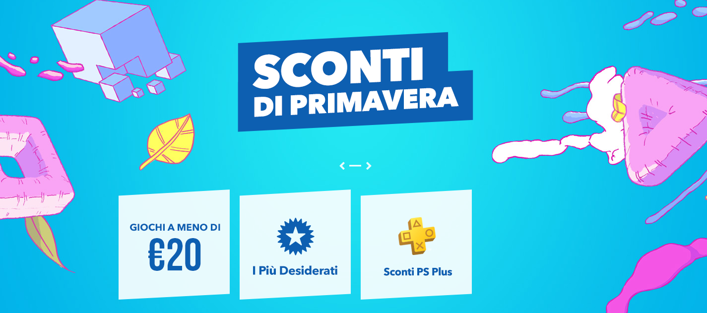 playstation store sconti di primavera