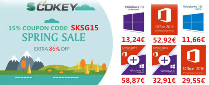 Licenze di Windows 10 ora a meno di 14 euro su VIP-SCDkey