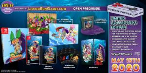 shantae and the seven sirens limited run games