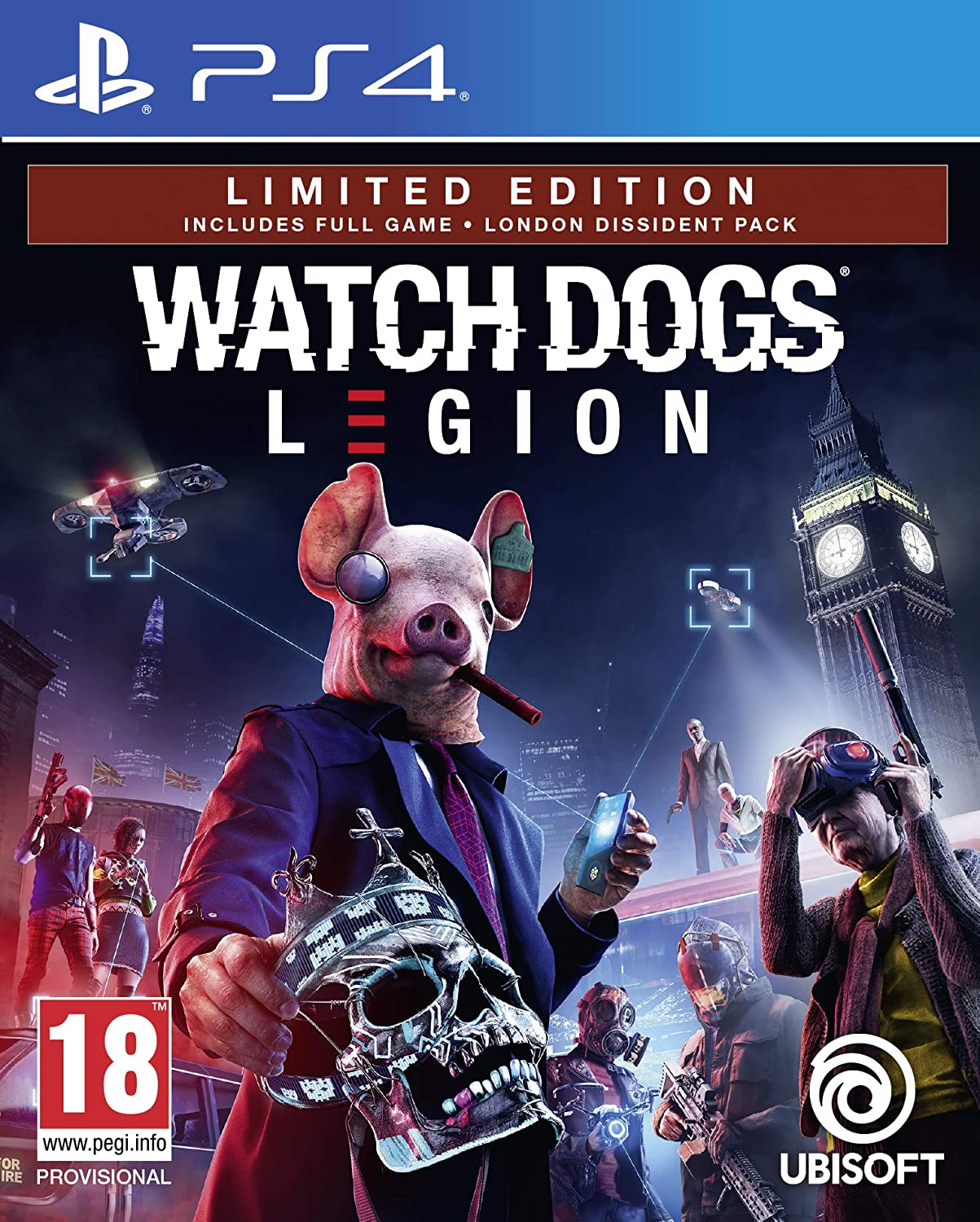 watch dogs legion limited edition ps4