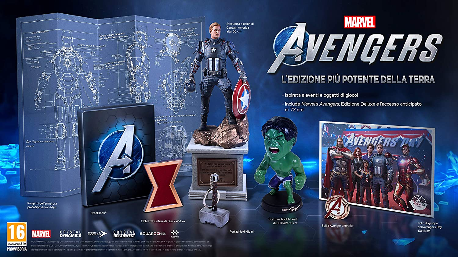 marvel's the avengers collector's edition