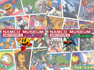 namco museum archives vol 1 vol 2