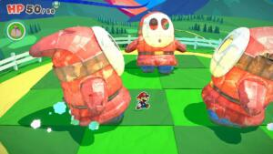 Paper Mario: The Origami King, vediamo dieci minuti di gameplay