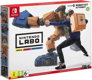 Nintendo Labo: Kit Robot in sconto del 65% su Amazon