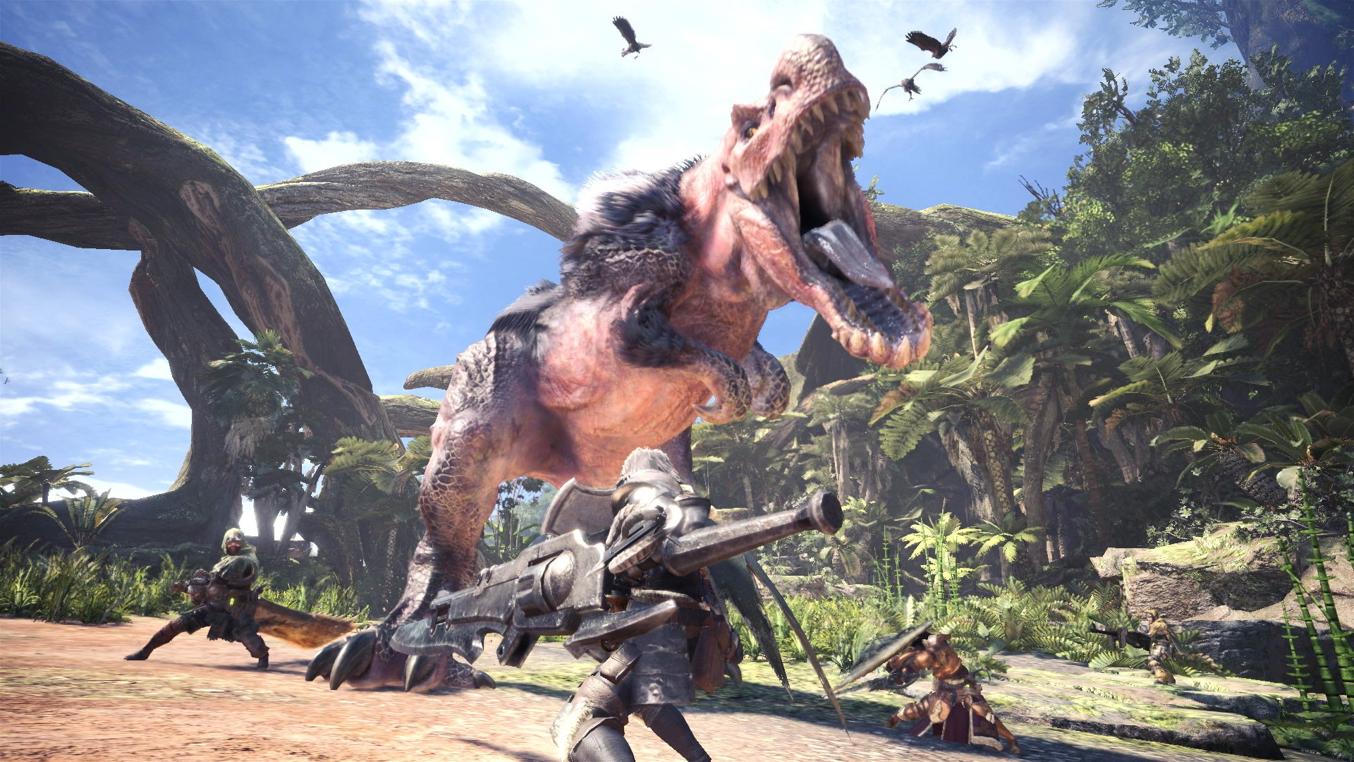 Il destino della versione PC di Monster Hunter World