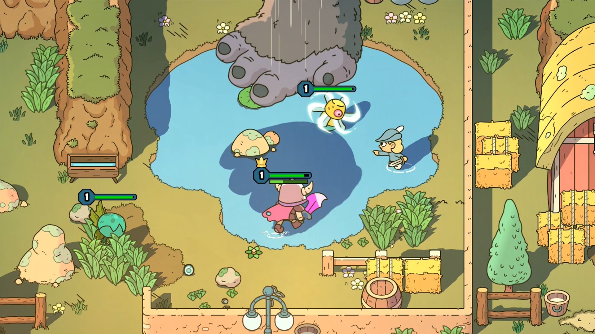 The Swords of Ditto - Avventure procedurali su PS4